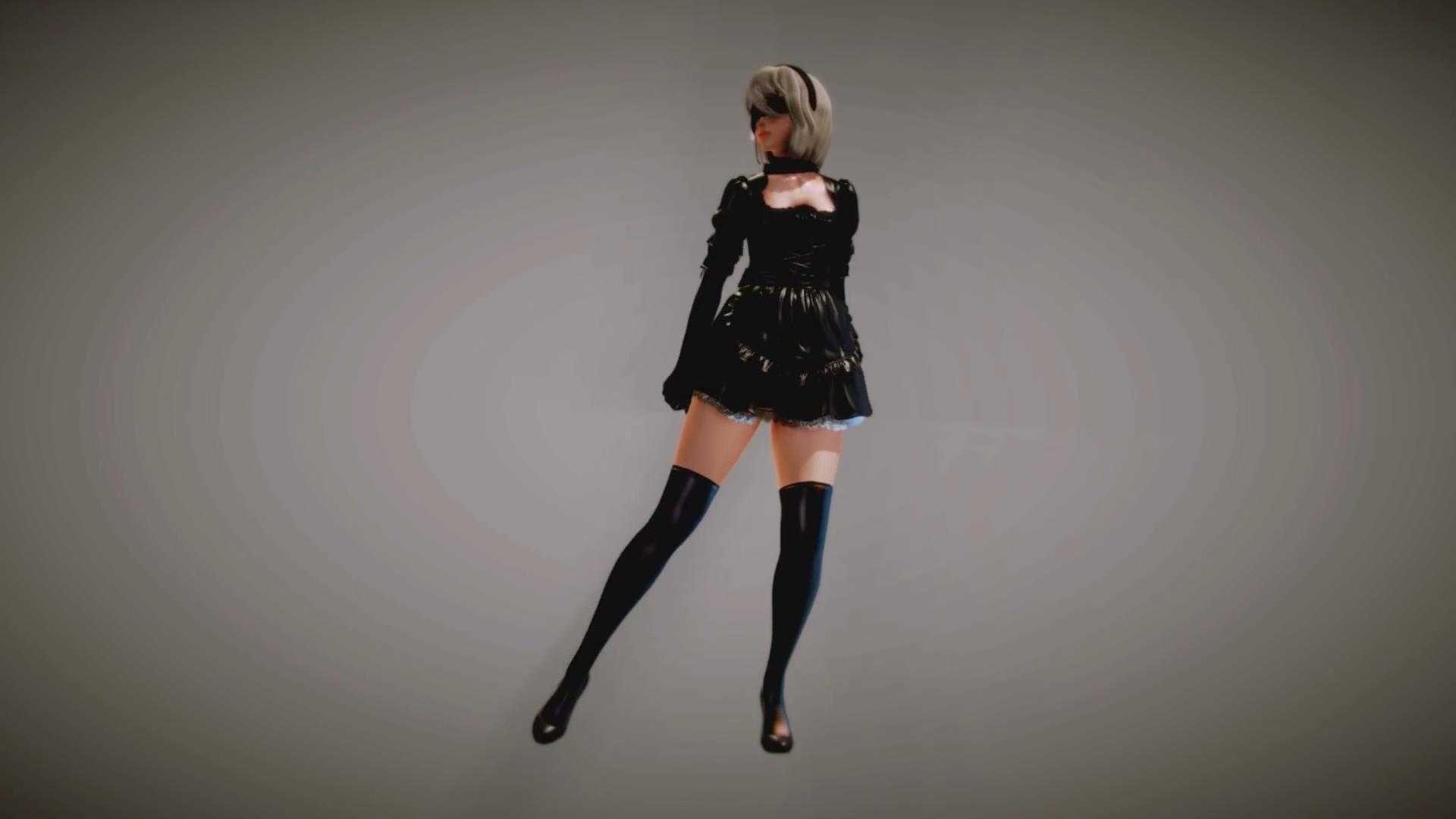 【尼尔:机械纪元 MMD】2B DANCE