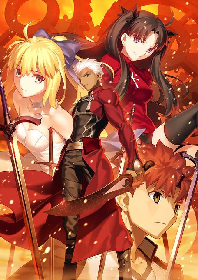 《Fate/stay night [Unlimited Blade Works]》 Blu-ray Disc Box封面!