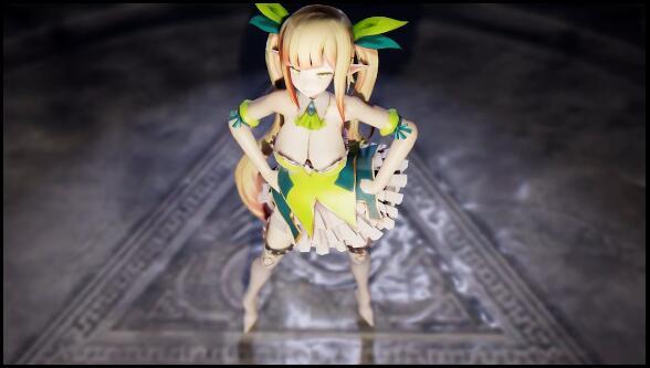 【MMD 在线观看】 ダンス–可愛いの精靈弓箭手 【i站】